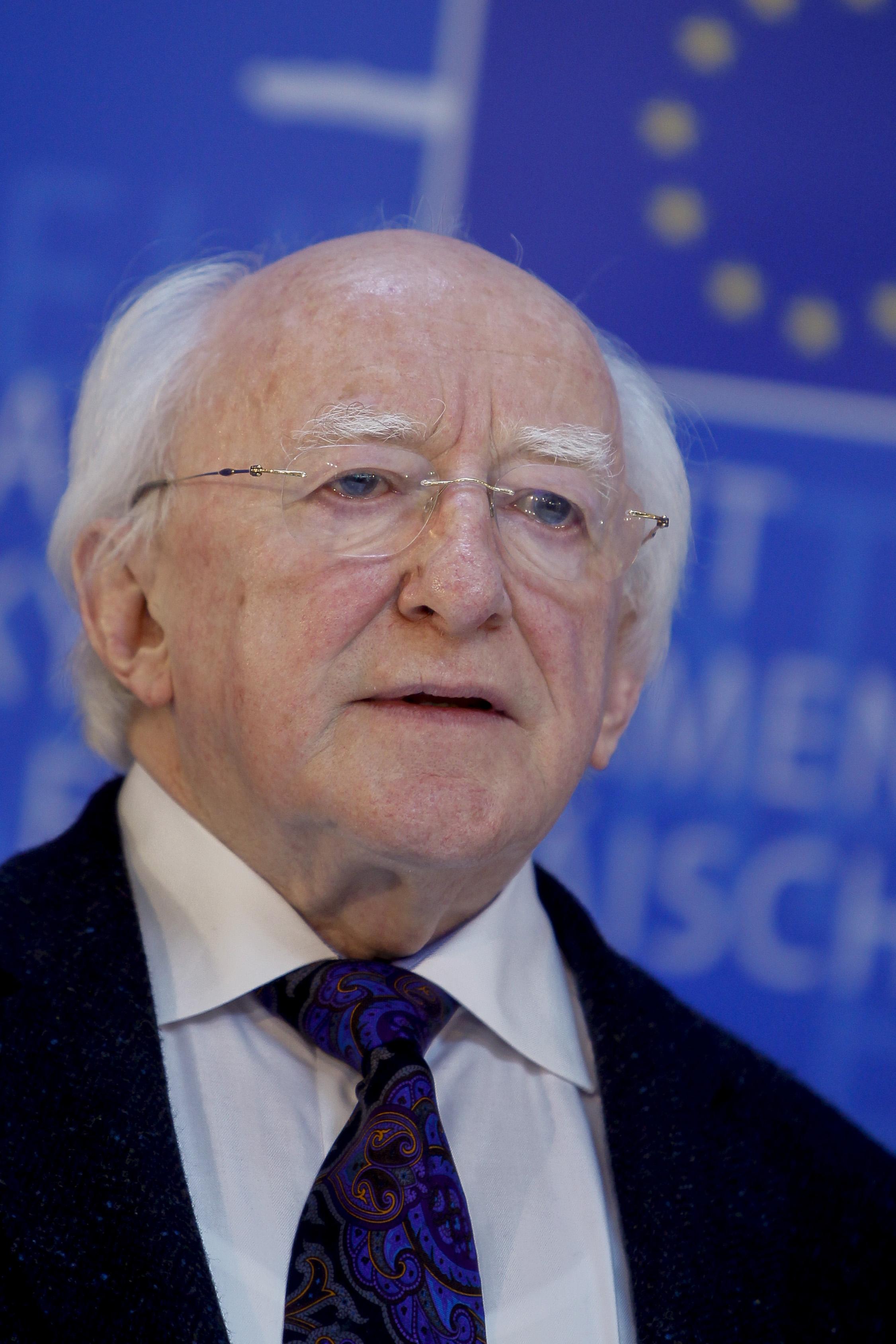 """Discurso del Presidente irlandés """"Hacia una Unión Europea de los  Ciudadanos"""""""