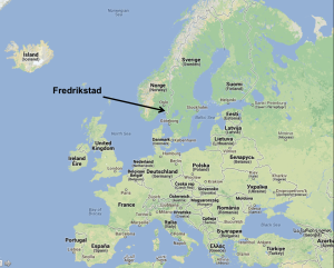The City Of Fredrikstad Integrating Cultural And Creative - Norway map fredrikstad